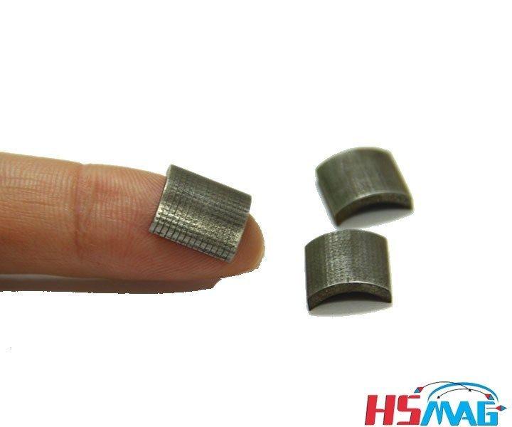 N35ah N35eh Small Arc Laminated Ndfeb Magnets For Motor Ndfeb Magnet Magnets Industrial Magnets