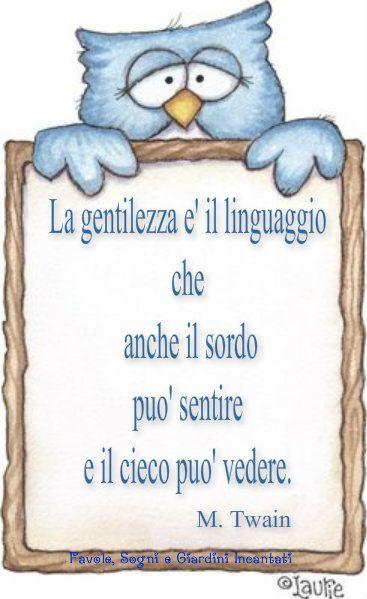 Gentilezza - Mark Twain