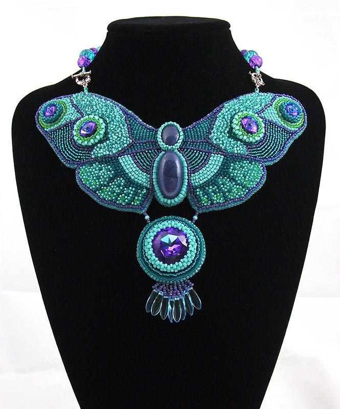 awesome butterfly necklace by Sigel