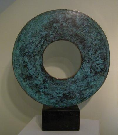 """'From the centre of the circle' - Edition I/IX Chris Buck Size : 19.00"""" x 15.00"""" Medium : Bronze"""