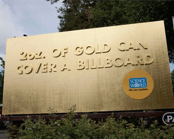 A Creative Billboard for the Science World Museum in Canada.