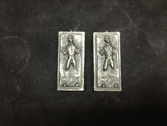 Star Wars Han Solo Carbonite Small Pendant or by DonaldJames77, $15.00
