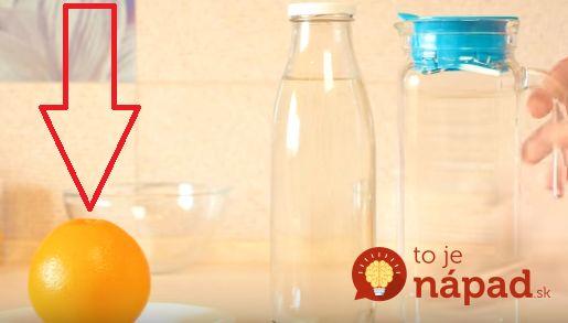Skvelý recept, ako pripraviť 2 litre domáceho džúsu z jediného pomaranču. Je to…
