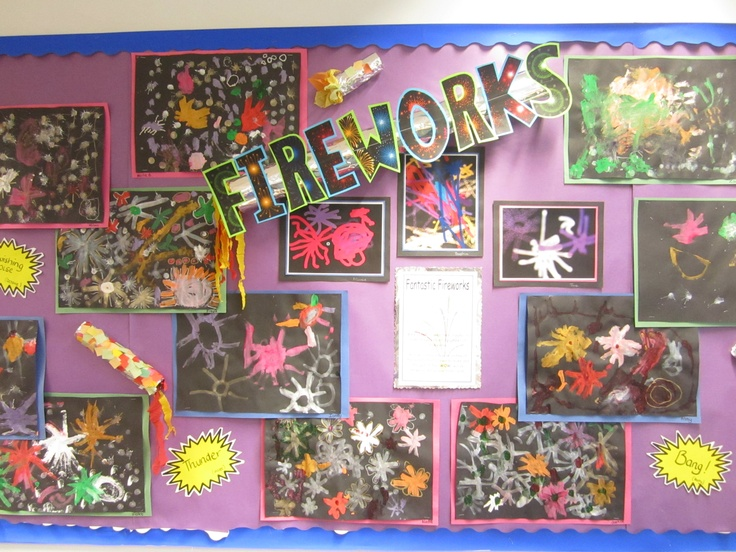 Reception class firework fun!