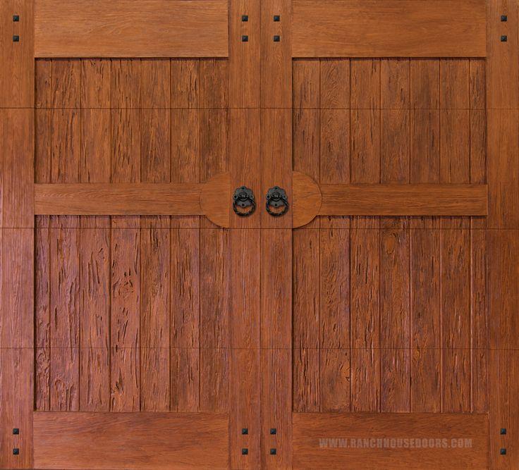 86 best images about faux wood garage doors on pinterest for Faux garage door