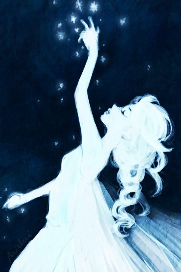 "Lass jetzt los by Nichii.deviantart.com on @deviantART - Elsa from ""Frozen"". This is just stunningly beautiful :)"