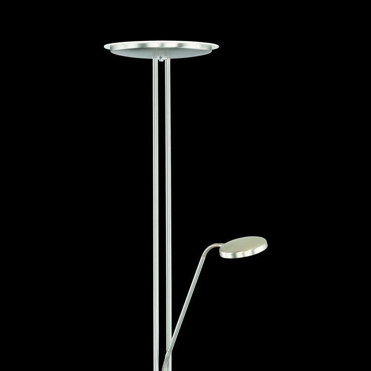 LED-Stehleuchte Around m. Lesearm dimmbar chrom Jetzt bestellen unter: https://moebel.ladendirekt.de/lampen/stehlampen/standleuchten/?uid=287394b7-2df9-5a20-b129-064fbe473f35&utm_source=pinterest&utm_medium=pin&utm_campaign=boards #stehlampen #leuchten #lampen Bild Quelle: www.lampenwelt.de