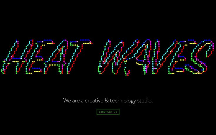 Site of the day: Heat Waves Collective by Maura Cottle See more: https://mindsparklemag.com/website/heat-waves-collective/  Heat Waves Collective is a beautifully designed site that is featured as Site of the Day on design blog Mindsparkle Mag