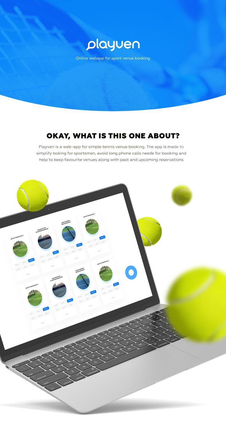 Playven is an online web-app for tennis venue booking all around the world. This presentation features UI/UX redesign mapping and visual demo
