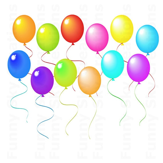 18 best balloon clip art images on pinterest happy birthday rh pinterest com party balloons clipart free pictures of party balloons clipart