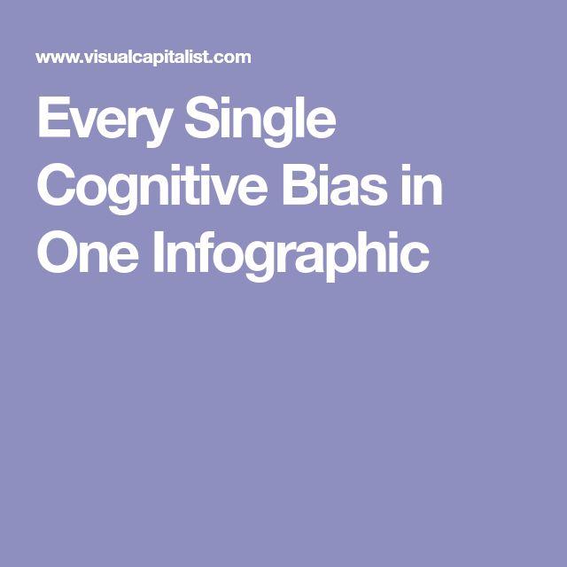 Best 25+ Cognitive bias ideas on Pinterest | Cognitive ...