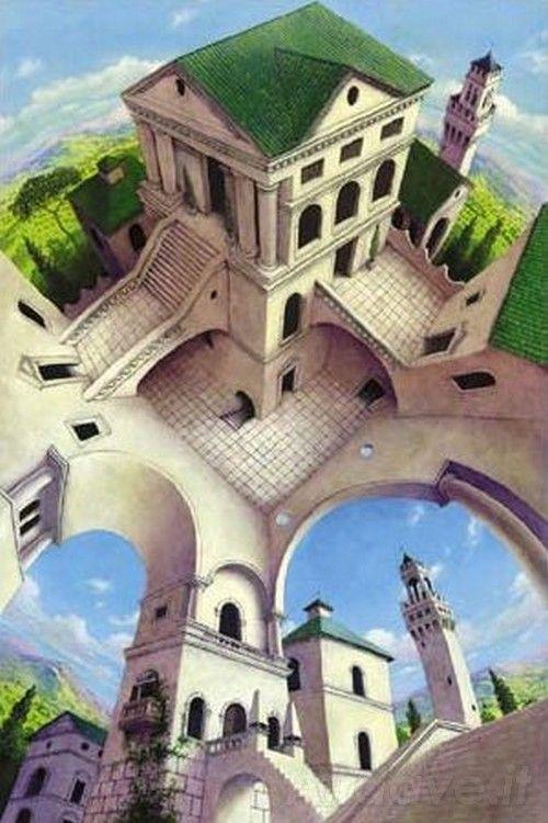 Illusioni Ottiche La Casa Impossibile