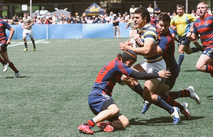 Cal rugby battles Notre Dame in first ever Varsity Cup - The Daily Californian