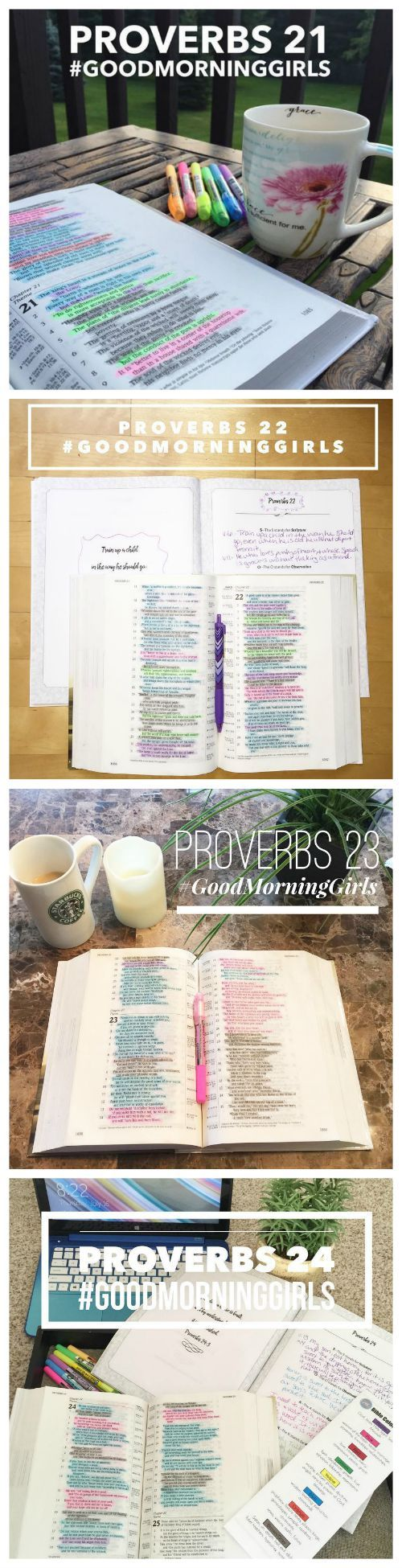 Join the #GoodMorningGirls community as we study God's word together!