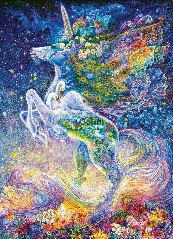 """Soul of the Unicorn"" by Josephine Wall                                                                                                                                                                                 Plus"