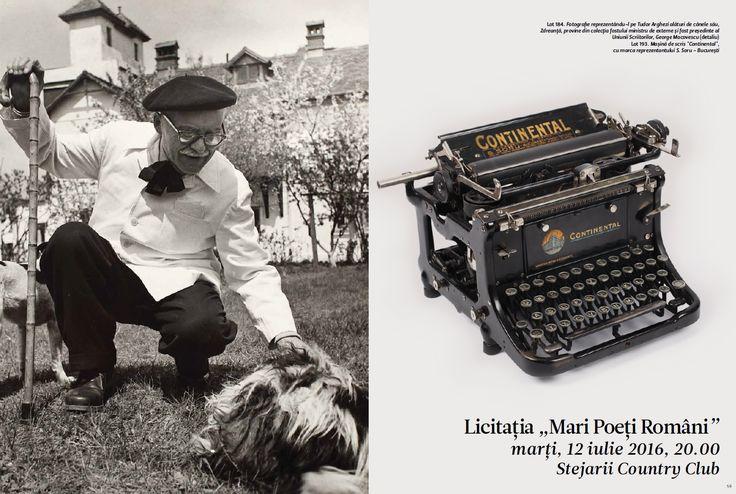 """Catalog Artmark Mari Poeti Romani Iulie 2016! Recomandari: Fotografie a lui Nichita Stanescu, realizata de Ion Cucu pentru revista """"Luceafarul"""", 50 euro"""