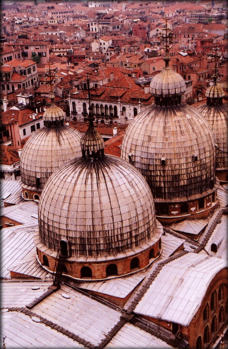 View from campanile in San Marco - #Venice- Bailey Zimmerman