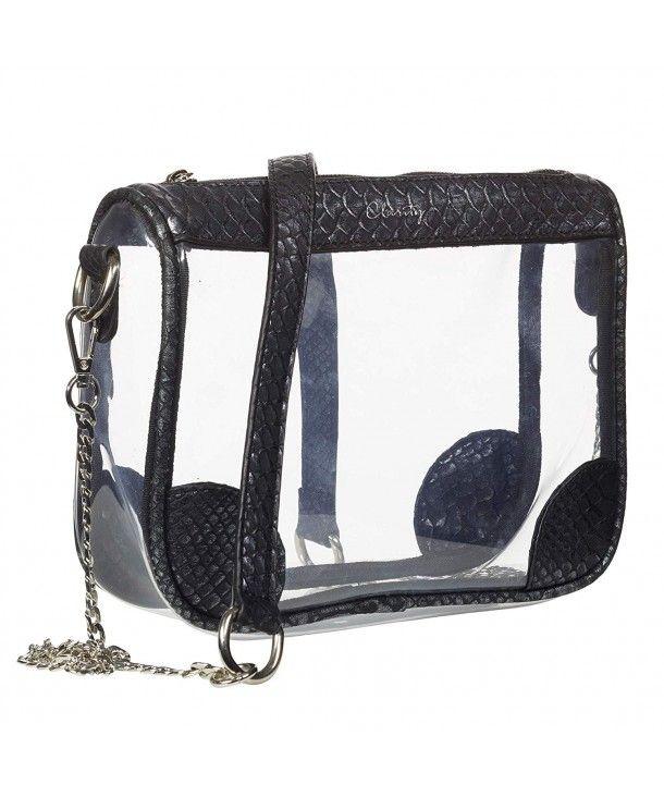 97daf1b68dc Lola Clear Women s Handbag NFL- NCAA- NBA Clear Women s Purse ...
