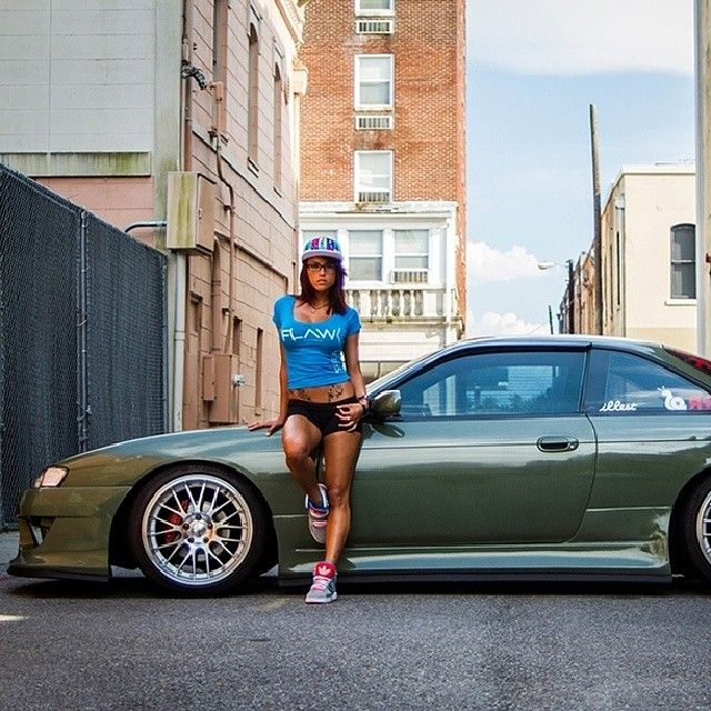 Drifter, model and car enthusiast. Of course @Lydia Squire