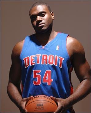 Detroit Pistons #54 Jason Maxiell -- Power Forward