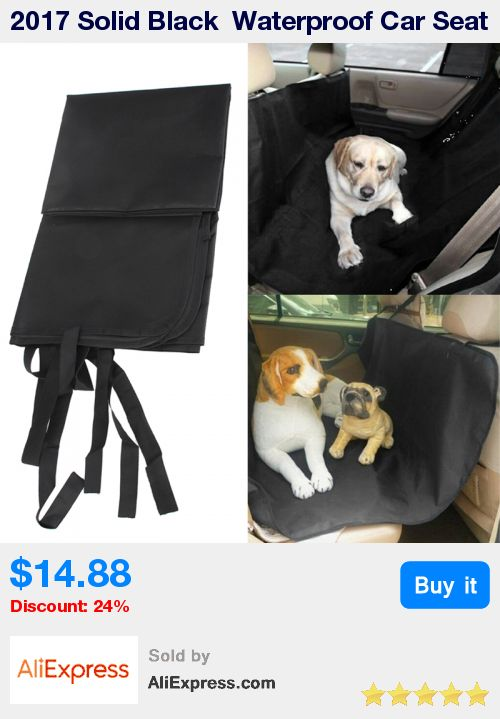 2017 Solid Black  Waterproof Car Seat Cover For Pet Protector Travel  Car Travel Accessories 120cm X 150cm * Pub Date: 09:22 Jul 6 2017