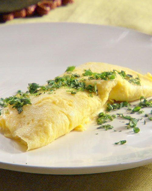 French Omelet with Fresh Herbs Recipe | Cooking | How To | Martha ...