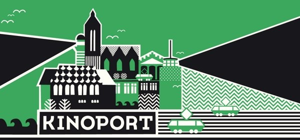 KINOPORT - LOGO by Bang Bang Design Studio , via Behance