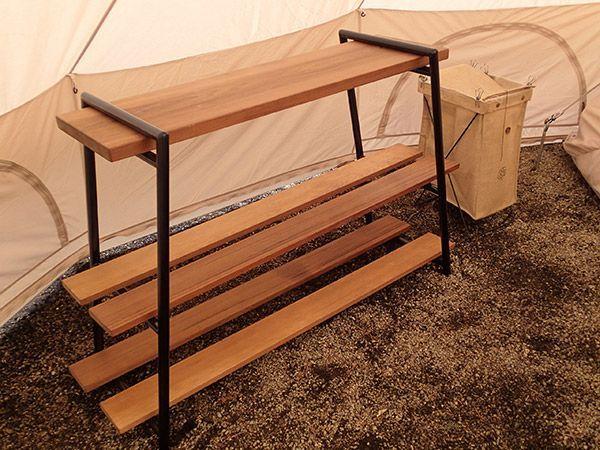 木製棚の自作?すごいぞBEEF LUCKY TOOLS! | CAMP*SITE