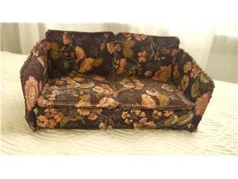 Brio blommig soffa -60-70-tal