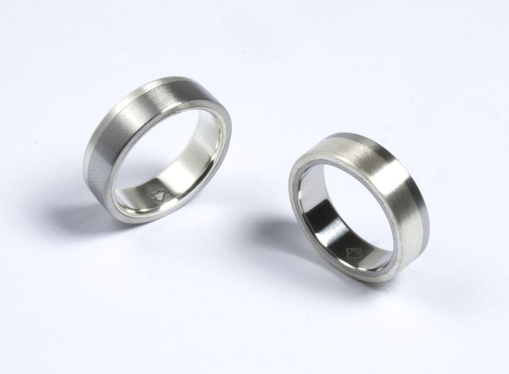 stainless and silver rings from KONZUK. kmr113 and kmr113r