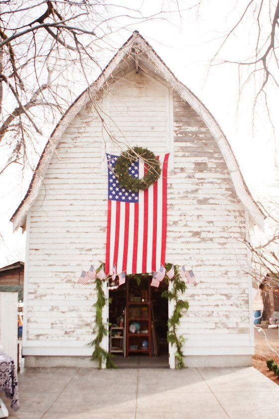 Favorite Things Friday - Love the white, great idea for my barn!
