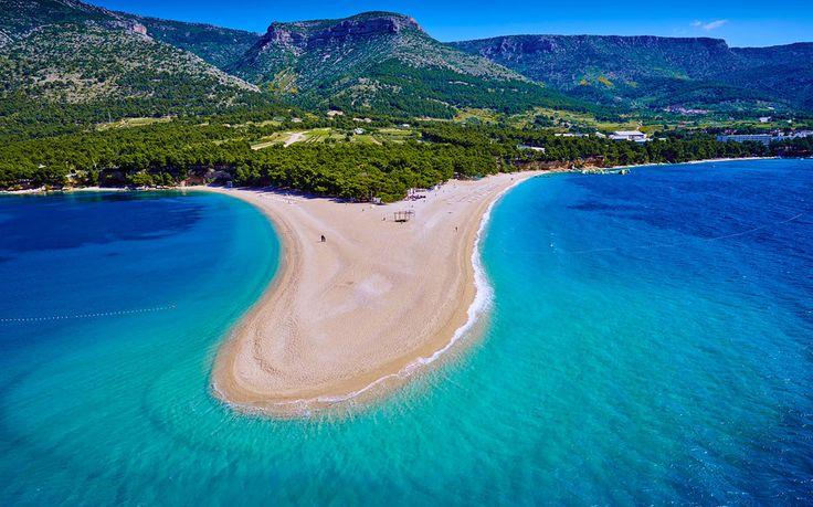 Croatia, Dalmatia, Brac Island, Zlatni rat beach...a breakdown of the best beaches in Croatia