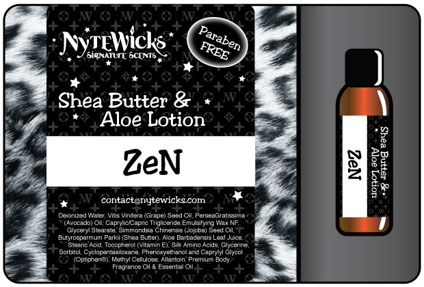 Zen - Find your Zen! Beautiful and soft Sandalwood carefully blended with a little Vanilla Bean. Breathe in breathe out.....feel the calm. 4oz $12.00 - 13.5oz Pump $22.00