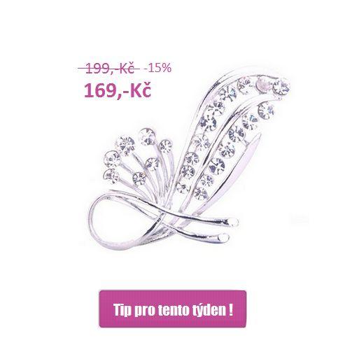 Tip pro tento týden!  Začal nám nový měsíc a s ním nový týden, a proto Vám přinášíme slevovou nabídku na www.Faverion.cz  Brož za zvýhodněnou cenu do 8.3.2015 nebo do vyprodání zásob.  http://www.faverion.cz/kategorie/broze/klasicke/broz-bizuterie-stribrna-elegantni/