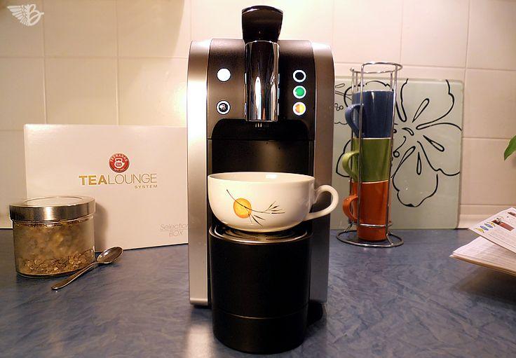 TEEKANNE TEALOUNGE System – #kgteekanne Die neue Teekapselmaschine | http://www.beangels-blog.de/teekanne-tealounge-system-die-neue-teekapselmaschine/
