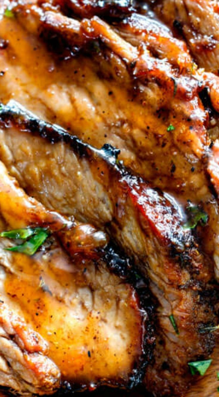 Crazy juicy, tender Grilled Cajun Steak ~ Seeping with flavor from the most amazing Cajun steak marinade and Cajun spice rub all complimented by sweet tangy Apricot Orange Glaze that is lick your plate delicious!