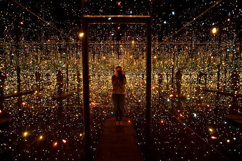 Spectacular Fireflies on the Water Light Exhibit by Yayoi Kusama - My