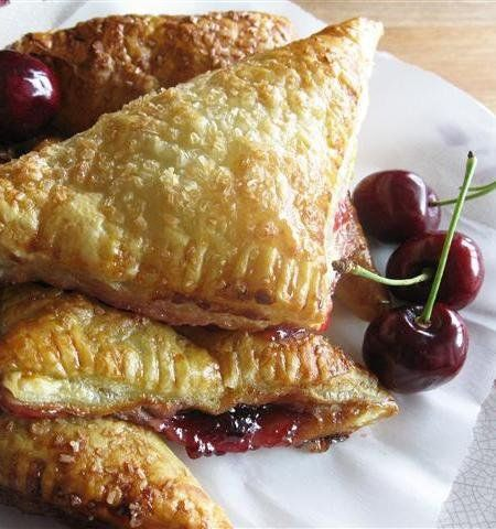 Recipe for Cherry Turnovers - Once you make these and see just how easy they are to put together, they will become your go-to breakfast-to-impress...