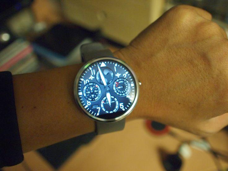 [고급 시계 포토샵 사진으로 시계배경을 바꿀 수 있는 모토(moto)360 구입기 - 벨앤로즈, 태크호이어, IWC, BMW, 페라리]