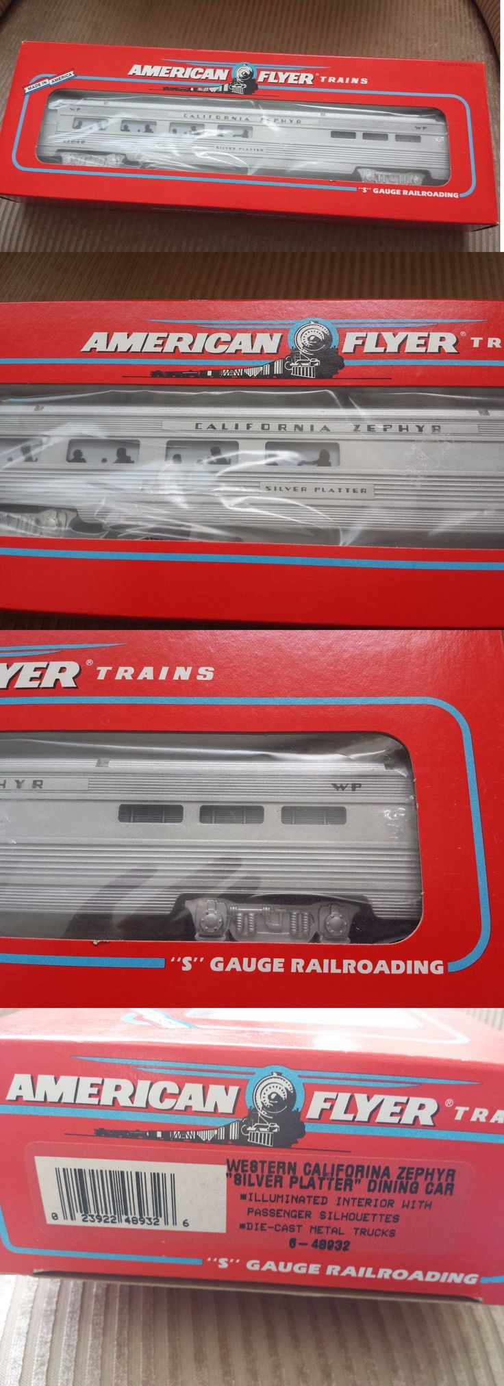 Passenger Cars 180282: American Flyer S 48932 Silver Platter Dining Car California Zephyr New In Box -> BUY IT NOW ONLY: $49.99 on eBay!