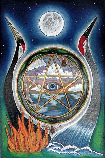 Thoth Fortune Tarot Card Tutorial: The Fifth Tarot, The Wheel -- If You Love Tarot, Visit Me