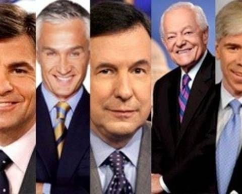 Conservative white men dominate Sunday morning talk shows