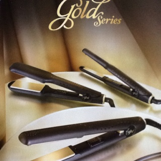 The gold series ghd