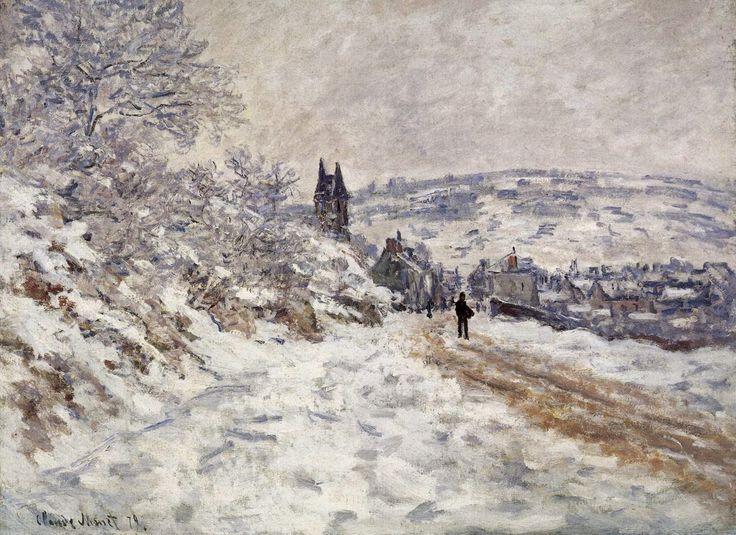 Δρόμος στο χιονισμένο Βετέιγ (1879)