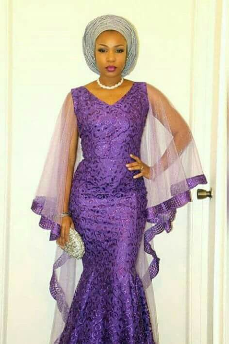 25+ Best Ideas About Nigerian Lace Styles On Pinterest