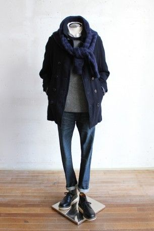 男人的冬季外套風格的建議 もっと見る