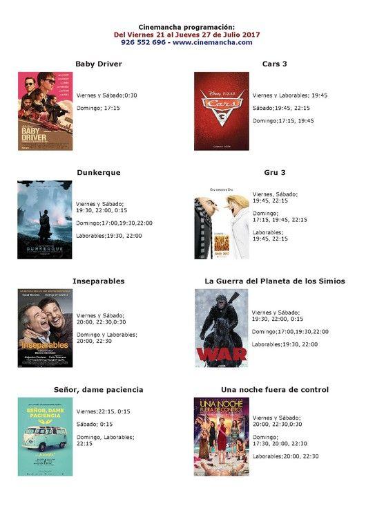 Programación Cinemancha del viernes 21 al jueves 27 de Julio - https://herencia.net/2017-07-21-programacion-cinemancha-del-viernes-21-al-jueves-27-julio/?utm_source=PN&utm_medium=herencianet+pinterest&utm_campaign=SNAP%2BProgramaci%C3%B3n+Cinemancha+del+viernes+21+al+jueves+27+de+Julio