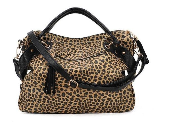 Find More Shoulder Bags Information about MerryTm Leopard print 2015 black women leather handbags big tote bag women messenger bags crossbody shoulder bags satchel purse,High Quality handbag closures,handbag fringe Suppliers, Cheap bag review from MerryTm High quality products on