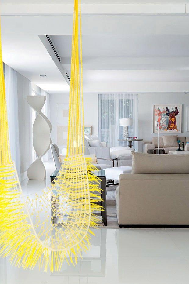 Ideias de balanços para ter dentro de casa (Foto: Reprodução)
