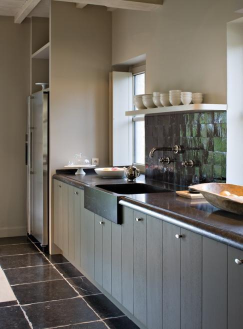 25+ beste ideeën over Keuken Opstellingen op Pinterest  Kookeilanden en Keuk # Wasbak Ombouw_032612